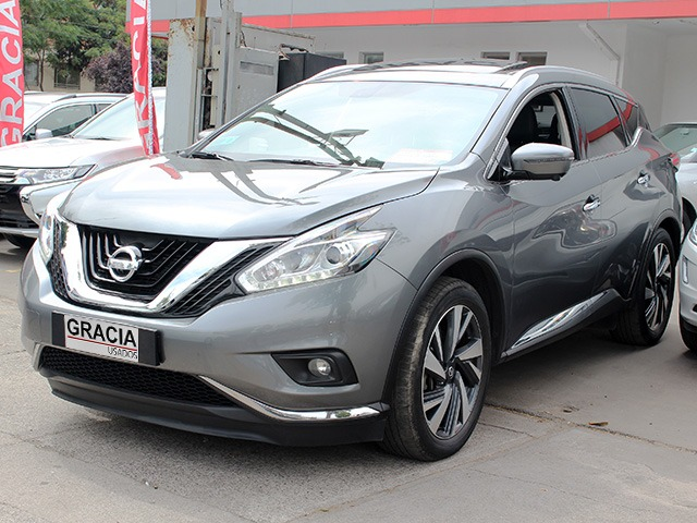 NISSAN MURANO 3.5 CVT AT EXCLUSIVE AWD 2017  - GRACIA AUTOS