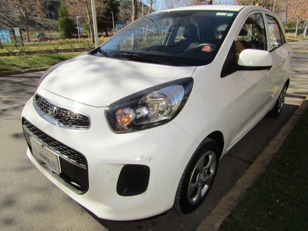 KIA MORNING EX 1.0 Mec. aire, airbags 2016 IMPECABLE 1 dueño. 59 mil km. 2 llaves - JULIO INFANTE