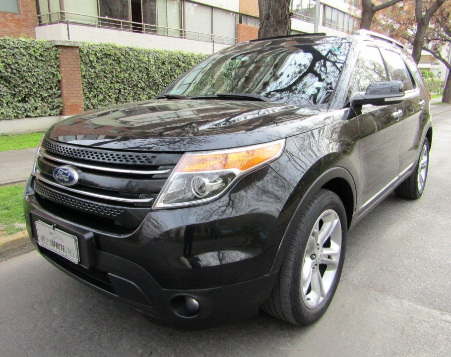 FORD EXPLORER LTD 4x4 3.5 Automatica  2014 2 Sunroof, cuero, 3 corridas, Mantencion 100 mil k - JULIO INFANTE