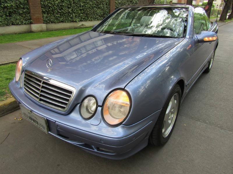 MERCEDES-BENZ CLK320 Convertible, cuero, airbags, abs 2000 Precioso. Mantencion recién hecha. 8.500 km. uso p - JULIO INFANTE