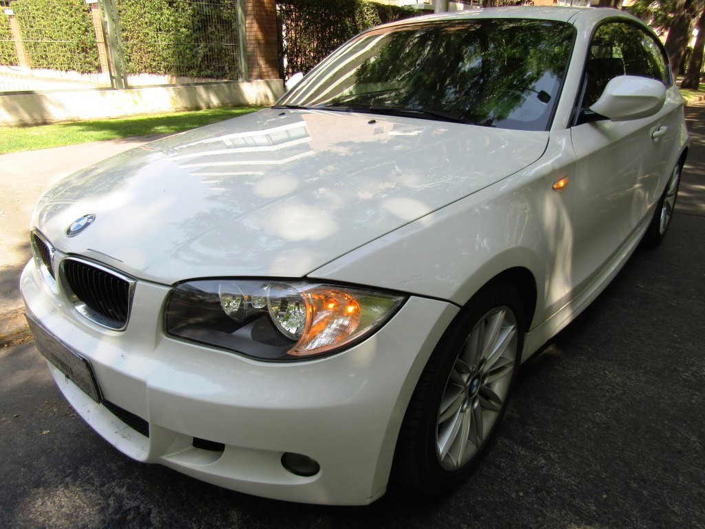 BMW 116I 3 puertas Look M 2012 mec. 6 veloc. aire, 6 airbags abs, IMPECABLE.  - JULIO INFANTE