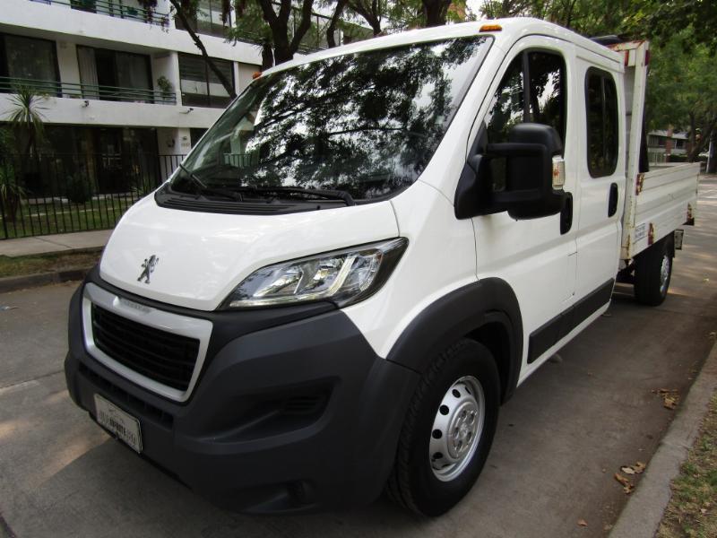 PEUGEOT BOXER L3 d cab 2.2 DIESEL  2017 13.5 MILLONES MAS IVA - JULIO INFANTE