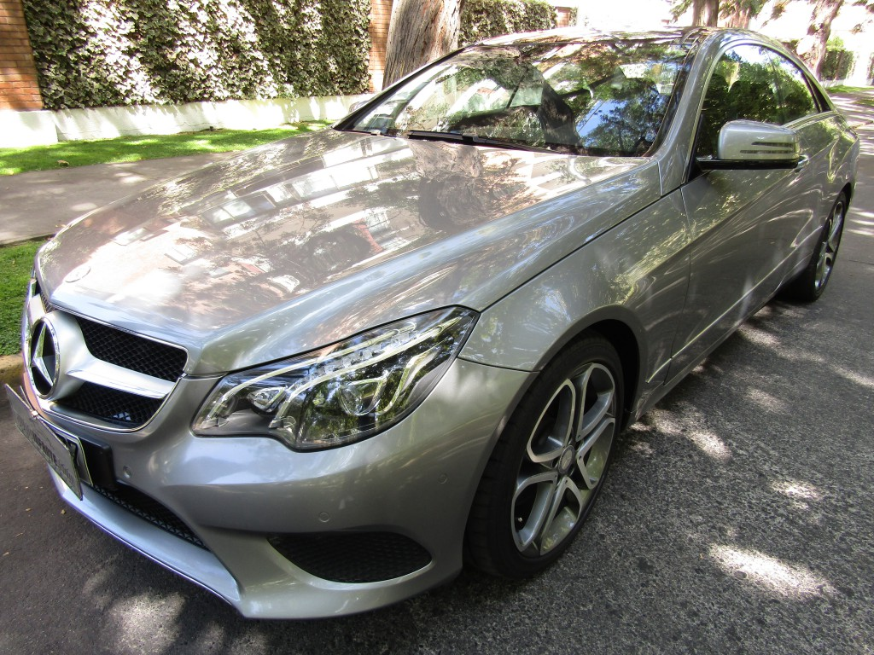 MERCEDES-BENZ E250 1.8 Turbo. cuero 2016 sunroof panoramico. 4 mantenciones Kaufmann - JULIO INFANTE
