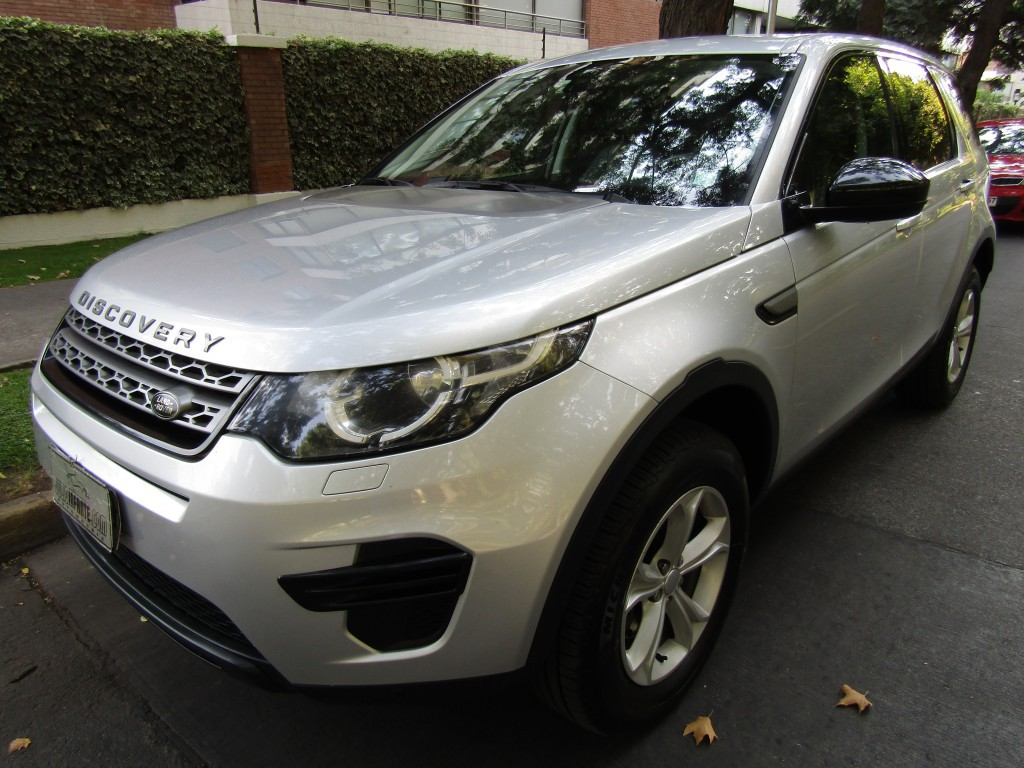 LAND ROVER DISCOVERY Sport 2.0 Si4 Turbo 2015 cuero paddle 8 veloc, navegador , 1 dueño. atendid - JULIO INFANTE