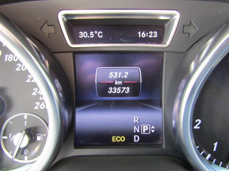 MERCEDES-BENZ ML 400 4 matic. cuero, paddle, kyless go 2015 1 dueño. como nuevo 33.500 km.  - JULIO INFANTE