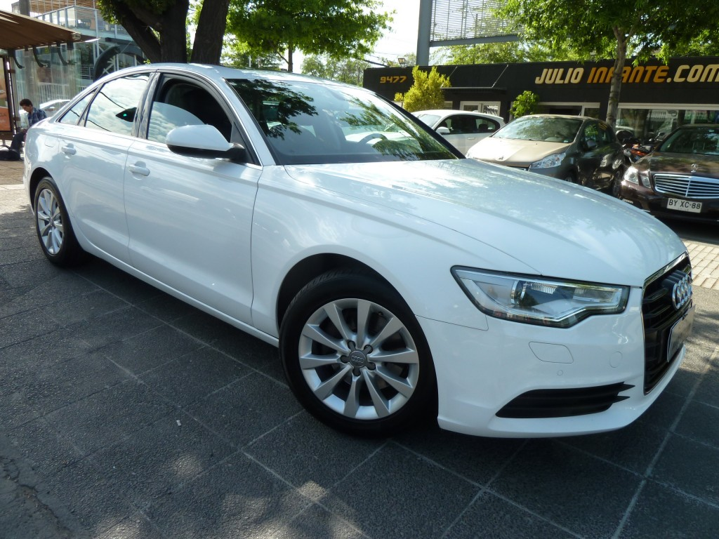 AUDI A6 A6 2.0 Turbo FSI  Cuero, Multitronic, Paddel shift 2013 Cuero, Multitronic, Paddel shift, Sunroof, Crucero - FULL MOTOR
