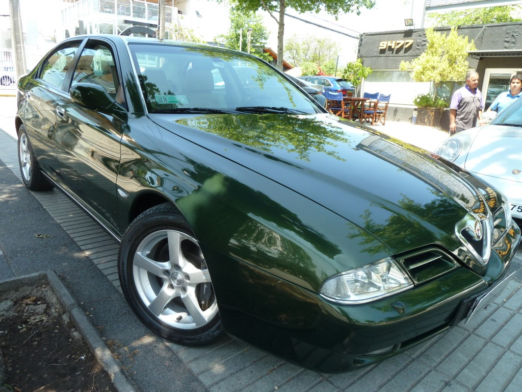 ALFA ROMEO 166 3.0 V6 24 válvs, tiptronic,  2003 cuero, Sunroof, 2 dueños. Correa cambiada, Neumáti - FULL MOTOR