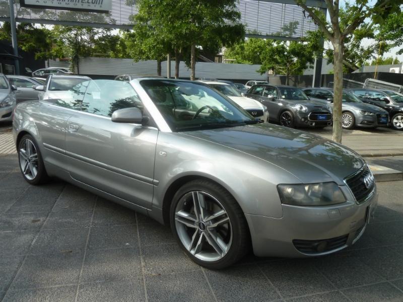 AUDI A4 Cabriolet 3.0 V6, Cuero 2006 Airbag, abs, climatizdor, llantas deportivas. audi - FULL MOTOR