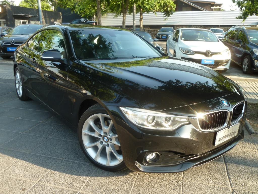 BMW 420  i Coupé 2.0 Look M, 2015 Steptronic, 8 veloc. cuero, sunroof. 1 dueño - FULL MOTOR