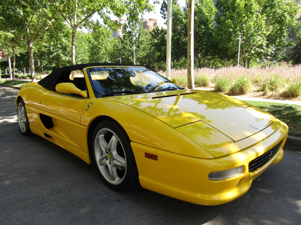 FERRARI 355 SPIDER 355 Spider mec 6 veloc 1999 Cuero, capota manual, IMPECABLE.  - FULL MOTOR