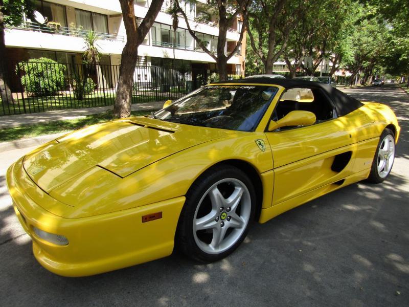 FERRARI 355 SPIDER 355 Spider mec 6 veloc 1999 cuero 350 hp. neumaticos nuevos. mantenciones. - FULL MOTOR