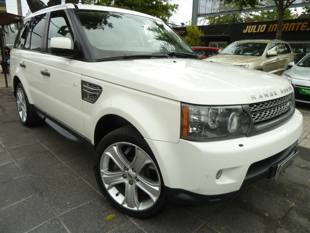LAND ROVER RANGE ROVER  Sport Supercharger 5.0 V8 2010 Mantenciones. 65 mil km. IMPECABLE - FULL MOTOR