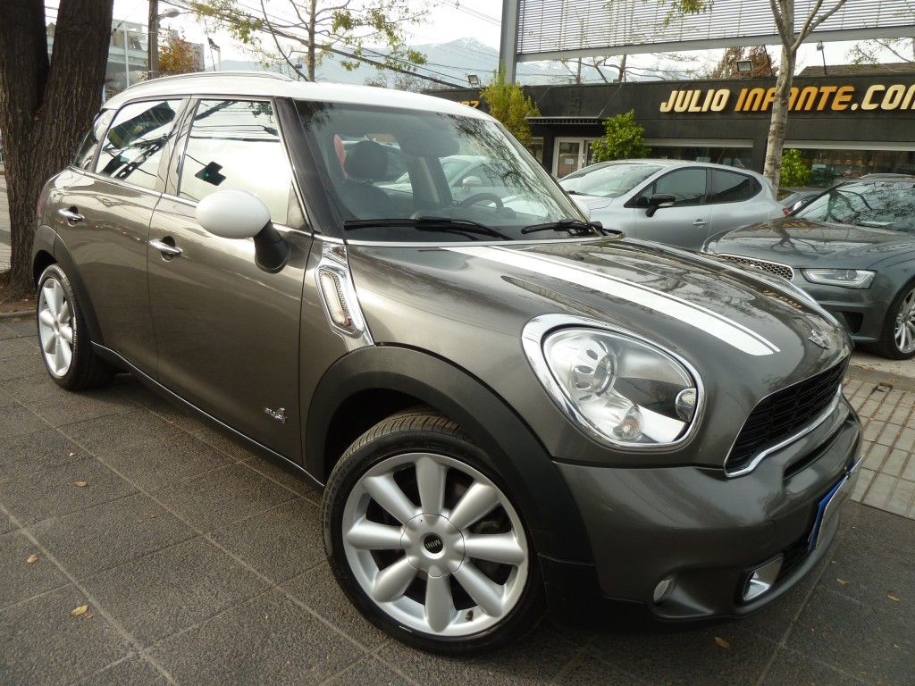 MINI COUNTRYMAN S ALL  4, 4x4 2011 Cuero, sunroof doble panorámico  - FULL MOTOR