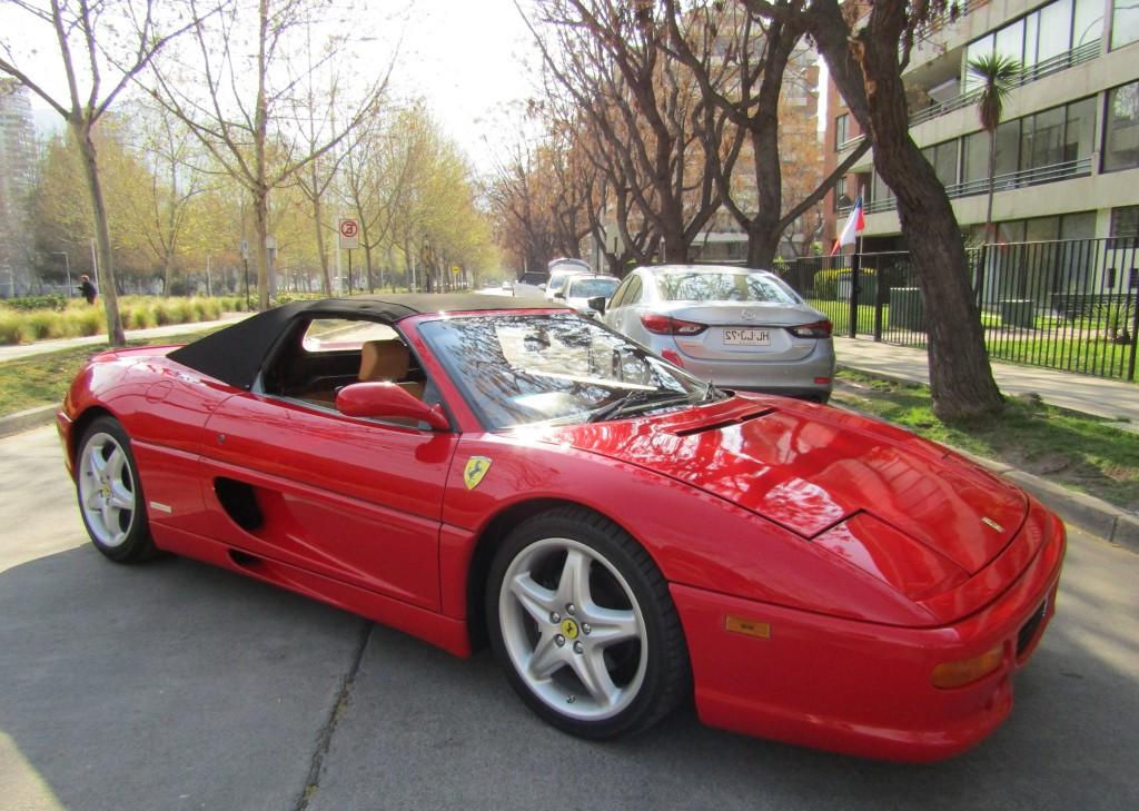 FERRARI 355 SPIDER 355 Spider Mecanica 1998 Cuero, capota manual, IMPECABLE.  - FULL MOTOR