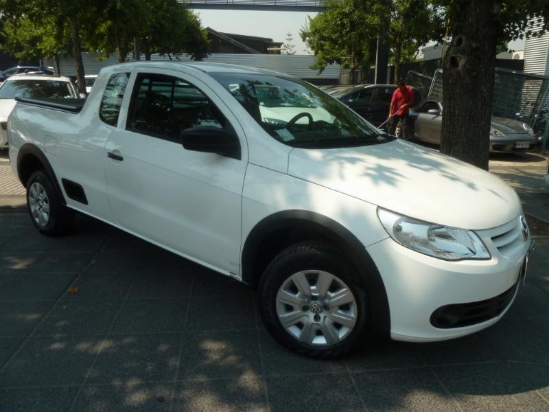 VOLKSWAGEN SAVEIRO Comfort 1.6 Cab extendida 2014 aire, airbags, mantencion, recién hecha - FULL MOTOR