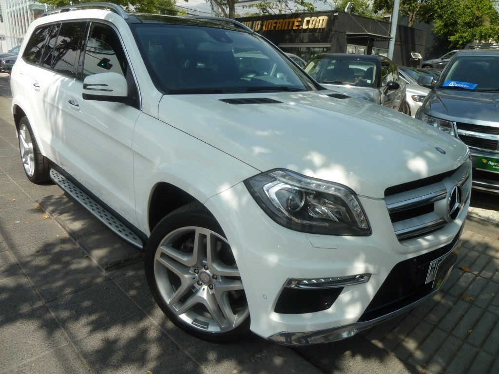 MERCEDES-BENZ GL 500 4 Matic 4.7 435 hp  2015 3 corridas, 2 sunroof, camara, pantalla estaciona - FULL MOTOR