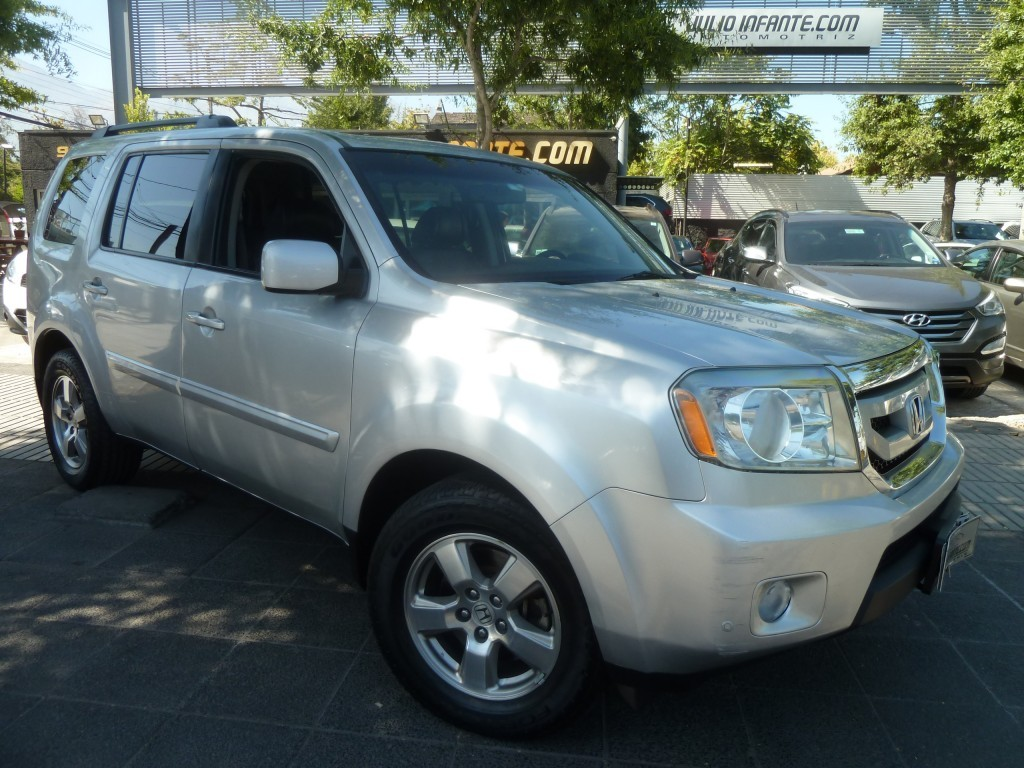 HONDA PILOT EX 4X4 3.5 AT 2010 Cuero,sunroof, 3 corridas, 4x4 - FULL MOTOR