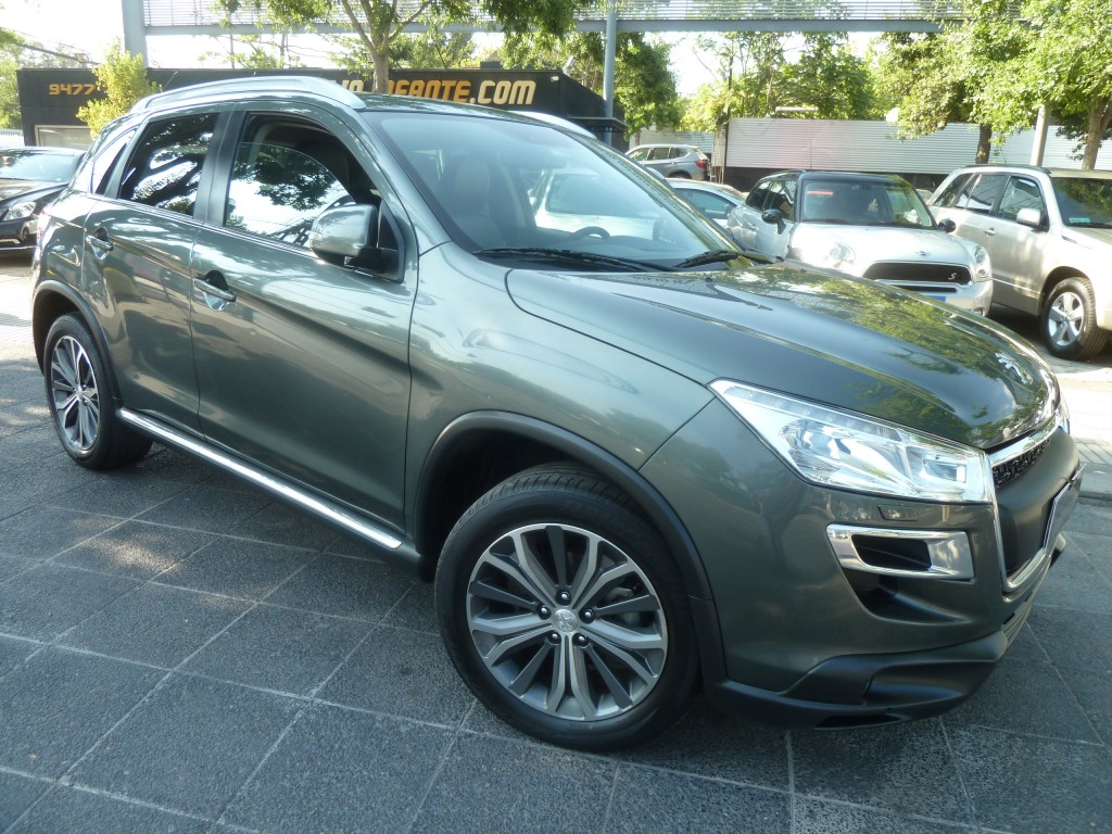 PEUGEOT 4008 Active 4WD 2.0 AT 2013 4x4, bluetooth, crucero, 8 airbag. abs, climatizad - JULIO INFANTE