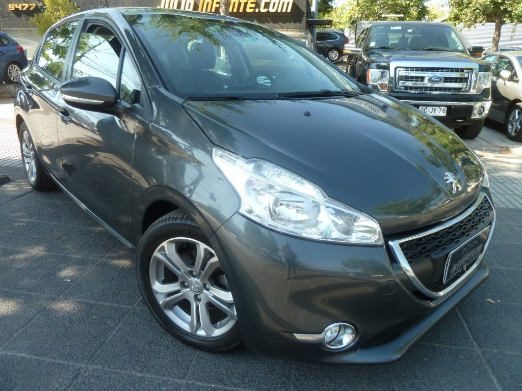 PEUGEOT 208 Allure HDI 1.4 diesel  2014 Aire, airbags, abs - JULIO INFANTE