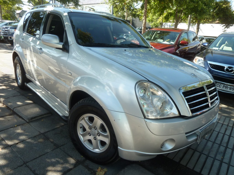 SSANGYONG REXTON 2.7 XDI Diesel autom. 3 corridas 2012 4x4, climatiz. airbags, abs, crucero.  - FULL MOTOR