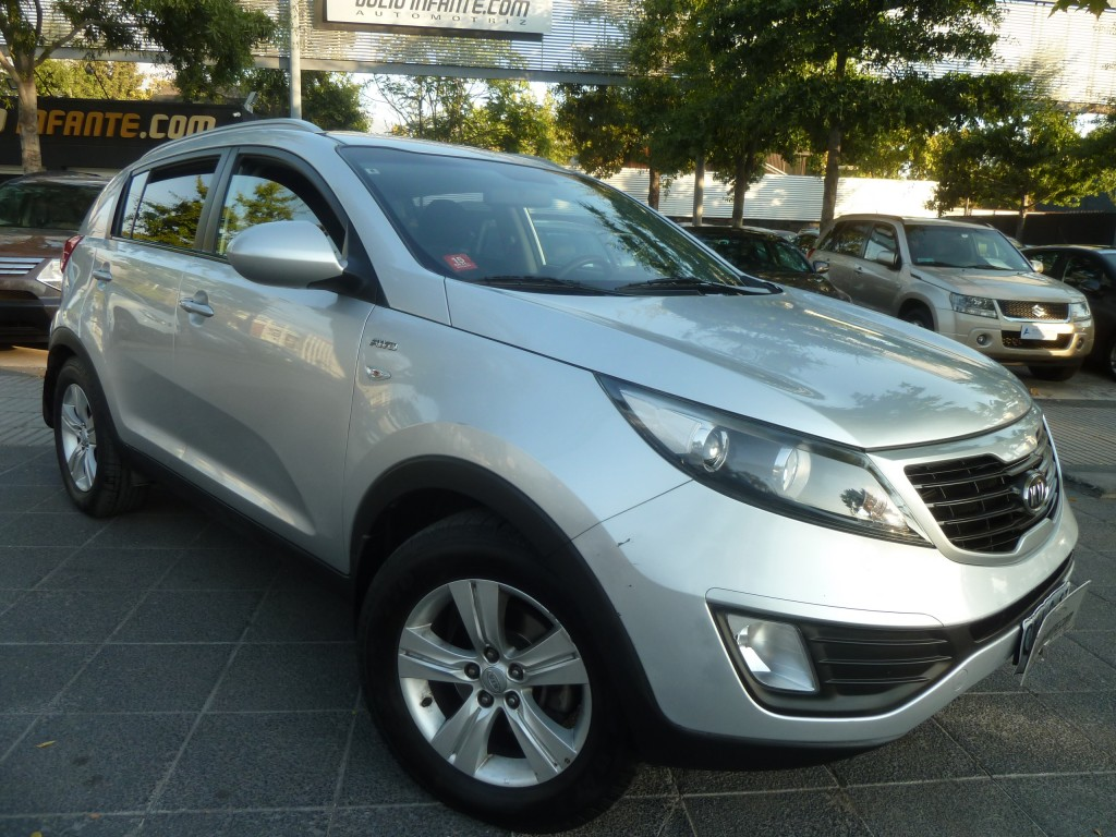 KIA SPORTAGE LX  2.0 Autom. Tipronic 4x4 2011 airbags, Abs, aire, IMPECABLE.  - FULL MOTOR