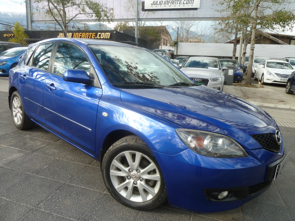 MAZDA 3 Sport 1.6 aire climatizador 2009 airbags abs IMPECABLE.  - FULL MOTOR
