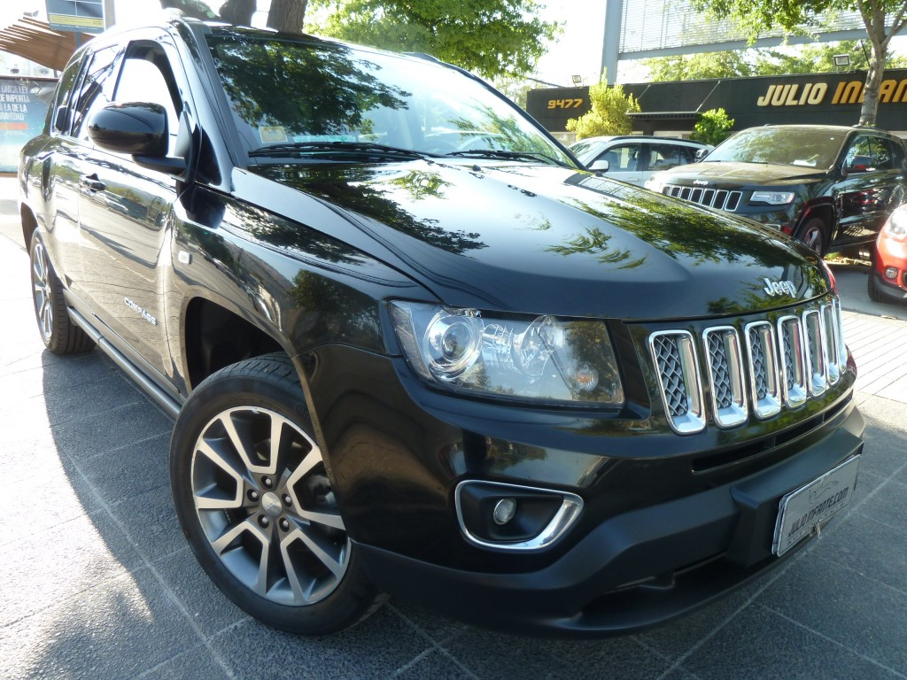 JEEP COMPASS New Compass 2.4 Limited  2014 cuero sunroof airbags climatizador  - FULL MOTOR
