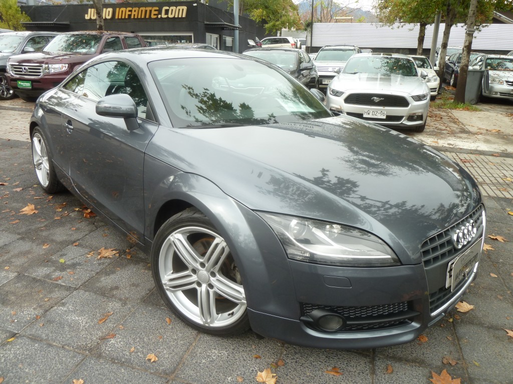 AUDI TT Turbo FSI Stronic paddle shift 2008 impecable llantas 18, neumatic. nuevos. 69 mil km. - FULL MOTOR