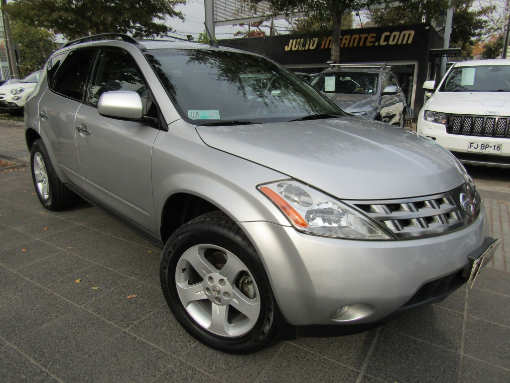 NISSAN MURANO SL 3.5 Automático 4x4 2006 sunroof, crucero, airbag, awd  IMPECABLE. - FULL MOTOR