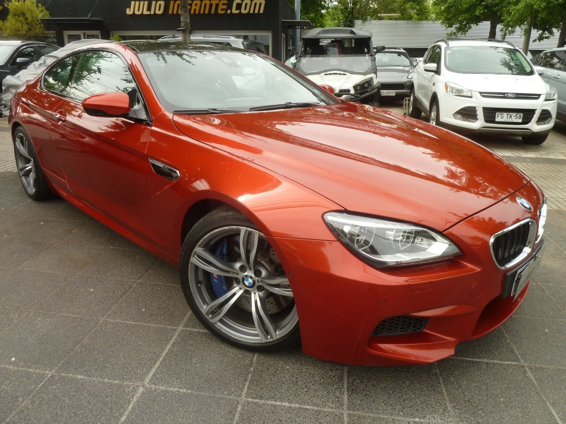 BMW M6 4.4 Twin Turbo 560 Hp 2013 15 mil kms. como nuevo. - JULIO INFANTE