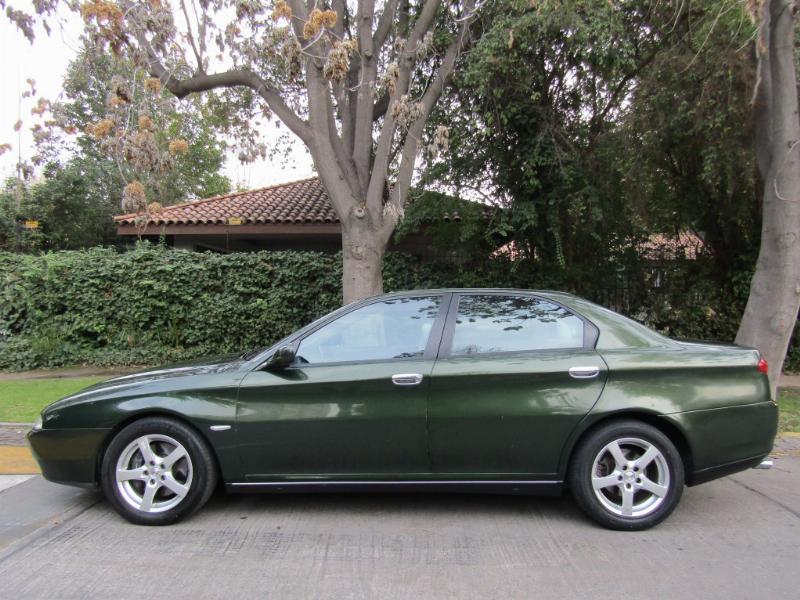 ALFA ROMEO 166 3.0 V6 24 válvs, tiptronic,  2003 cuero, Sunroof, 2 dueños. Correa cambiada, Neumáti - FULL MOTOR