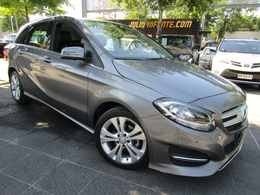 MERCEDES-BENZ B180 CDI 1.6 Turbo, paddle shift 2015 mantenciones kaufmann, 2 llaves.  - JULIO INFANTE