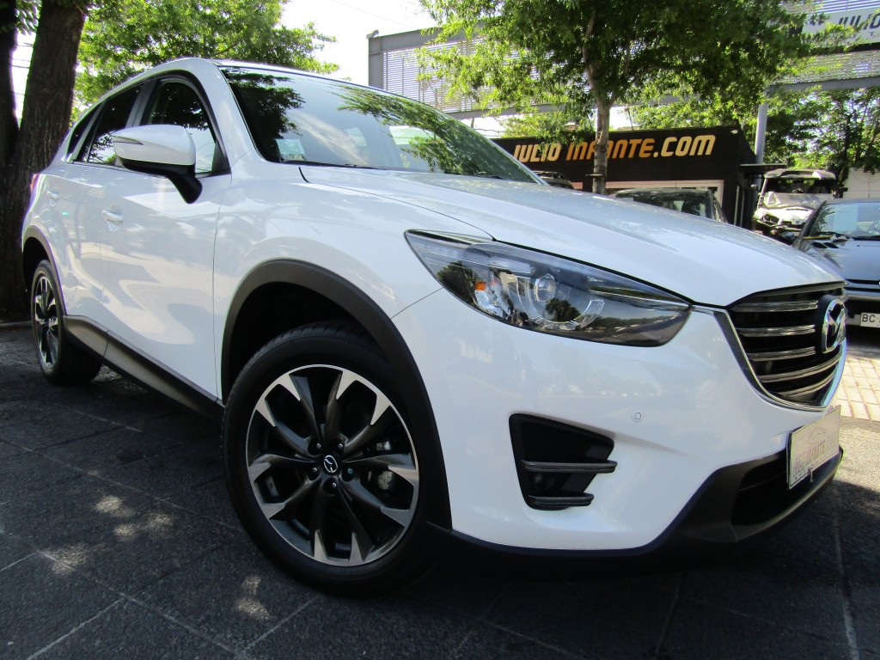 MAZDA CX5 GT 4x4 2.5 2016 Cuero, sunroof, 6 airbag. Mantenciones. Garantia - JULIO INFANTE