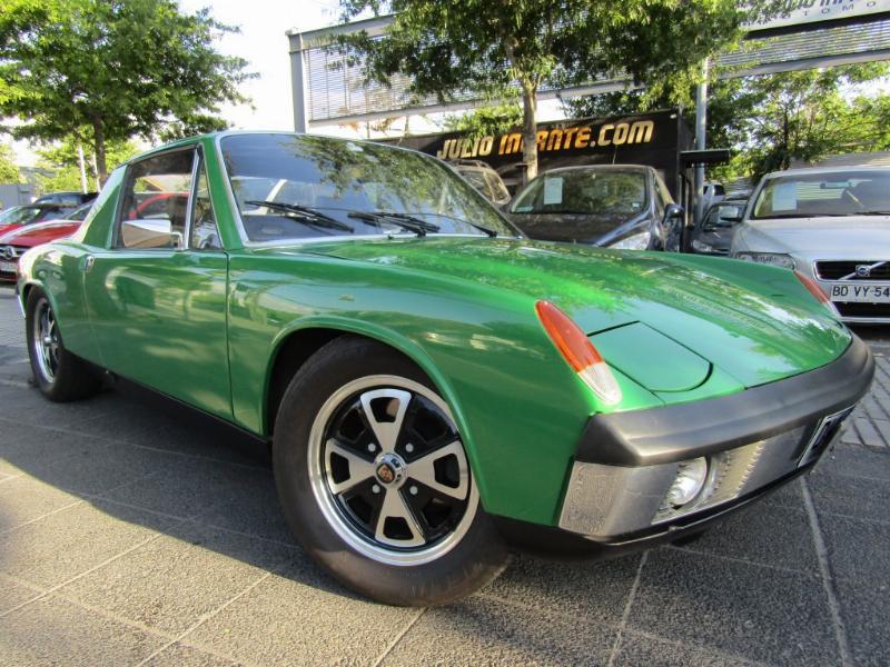 PORSCHE 914 Targa 2.0 100 hp. RESTAURADO 1973 Perfecto andar, cuero, neumáticos perfectos - FULL MOTOR
