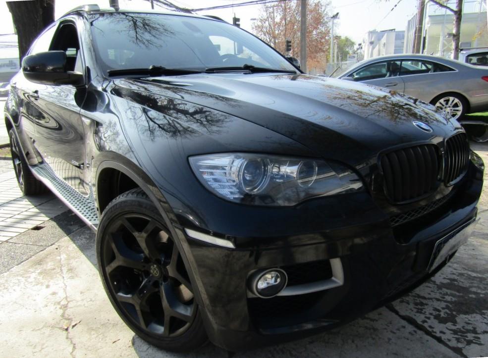 BMW X6 X6 4.4 X Drive 50I A 2014 Versión Black, ÚNICO EN CHILE, 450 CV, Airbag - JULIO INFANTE