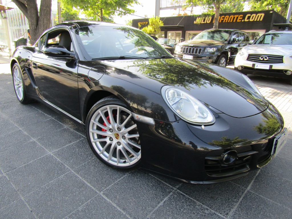 PORSCHE CAYMAN S mec. 6 veloc.  1 dueño. 45 mil km. 2009 Impecable, 6 airbags, abs, crucero, climatizador. - FULL MOTOR