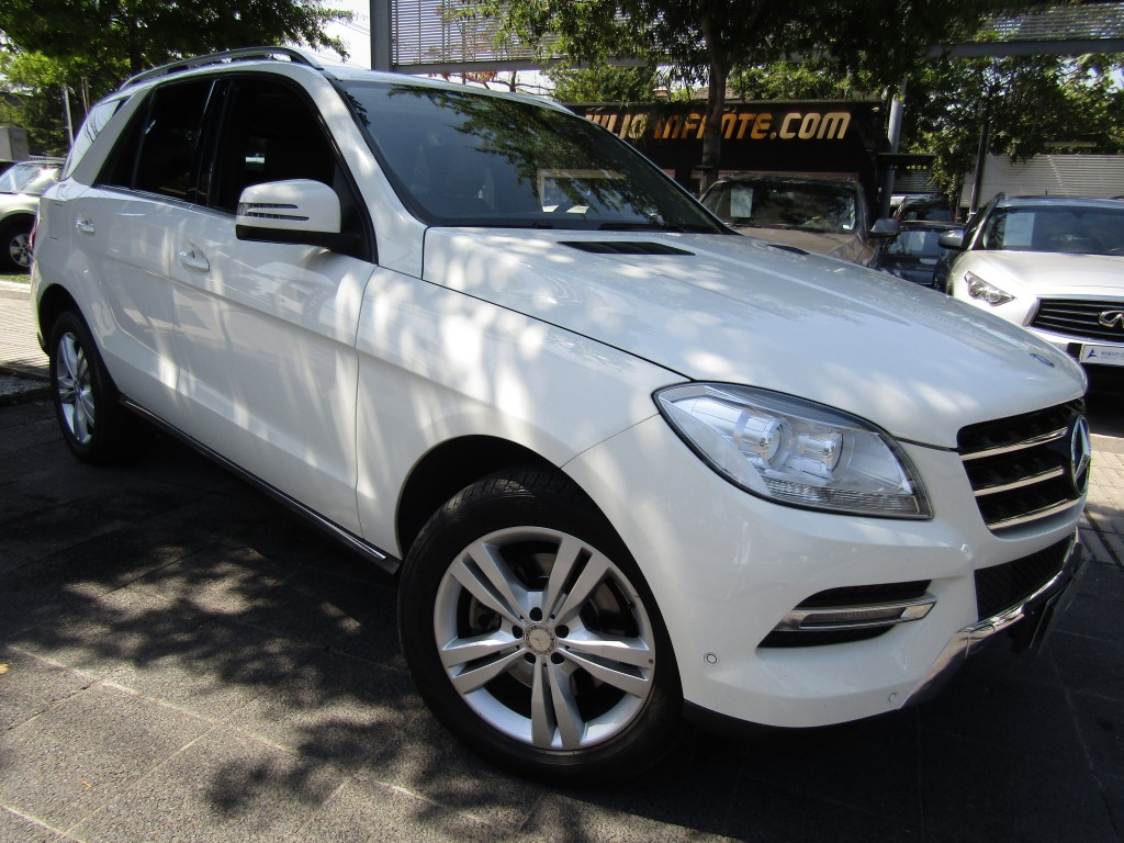 MERCEDES-BENZ ML 350 Blueefficiency Sport 3.5 2014 Cuero, 6 airbag, poco kilometraje - FULL MOTOR