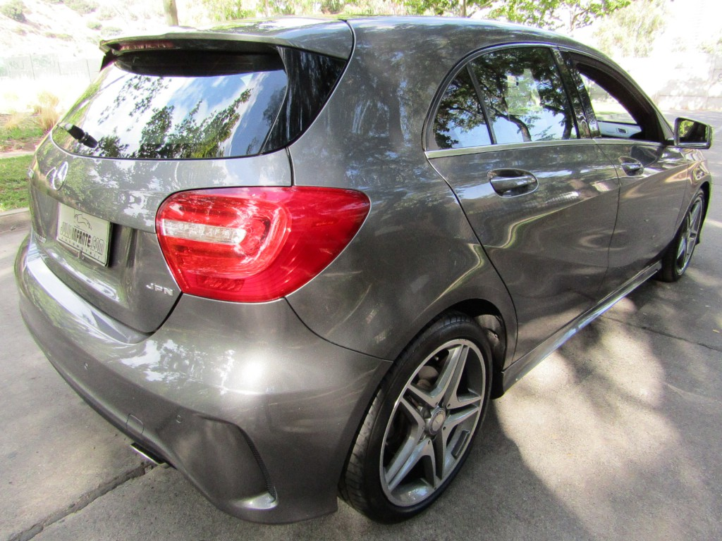 MERCEDES-BENZ A 200 1.6 Turbo Look AMG  2014 Paddle, cuero,  airbag, abs, crucero - JULIO INFANTE