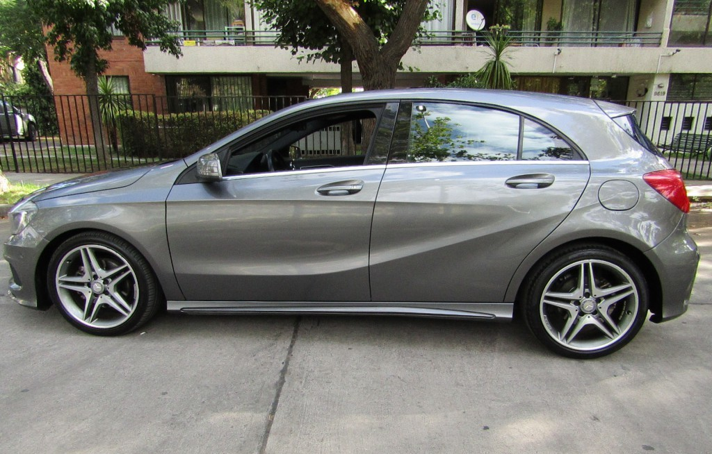 MERCEDES-BENZ A 200 Blue Efficiency 1.6 Turbo 2014 10 airbag, cuero, - JULIO INFANTE