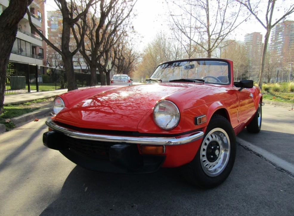 TRIUMPH SPITFIRE 1.5 RESTAURADO, pintura, mecanica.  1978 nuevo interior, neumáticos, fantástico andar.  - FULL MOTOR