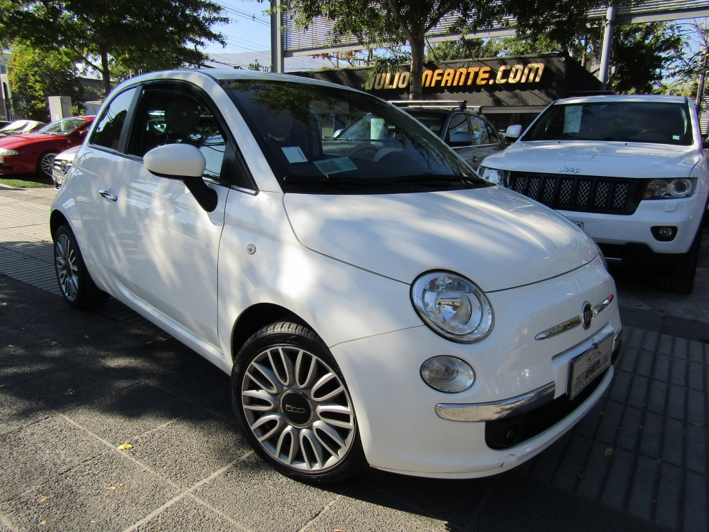 FIAT 500 1.2 AT 2015 Aire acondicionado.  - FULL MOTOR