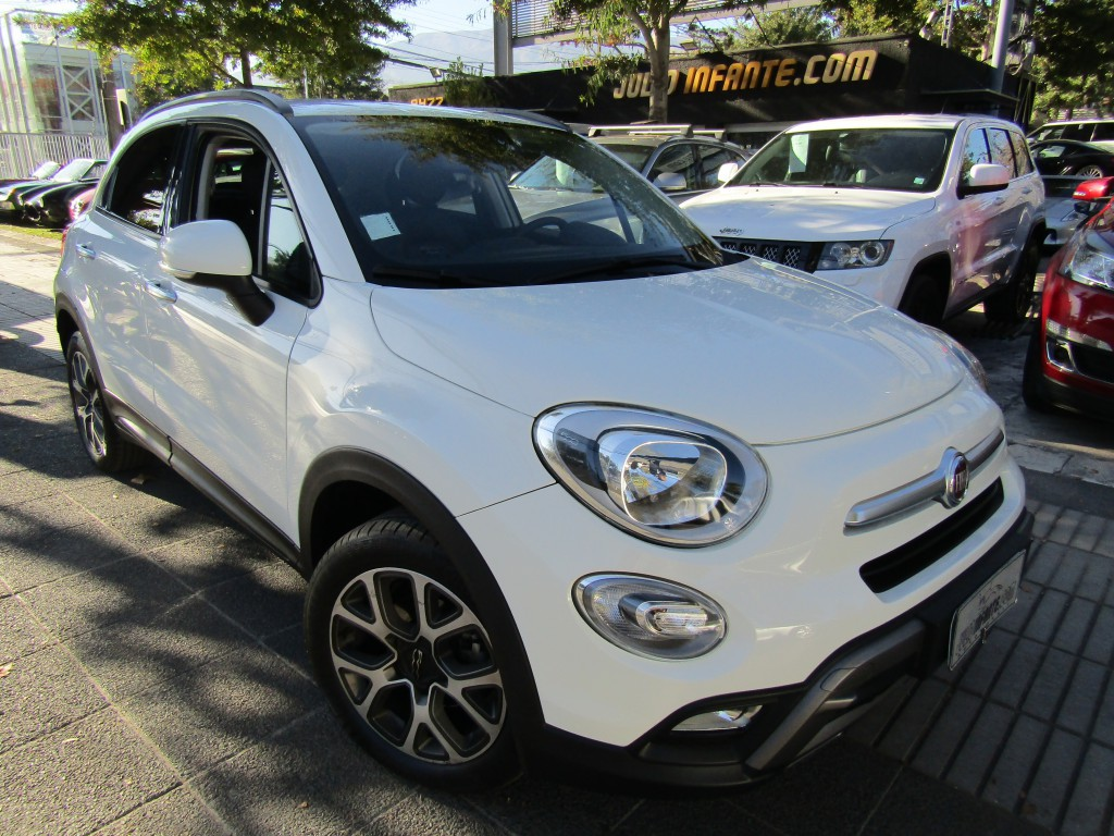 FIAT 500 500x Cross 1.4 AT. tiptronic 2017 Cuero, 6 airbags, llantas 17 - FULL MOTOR