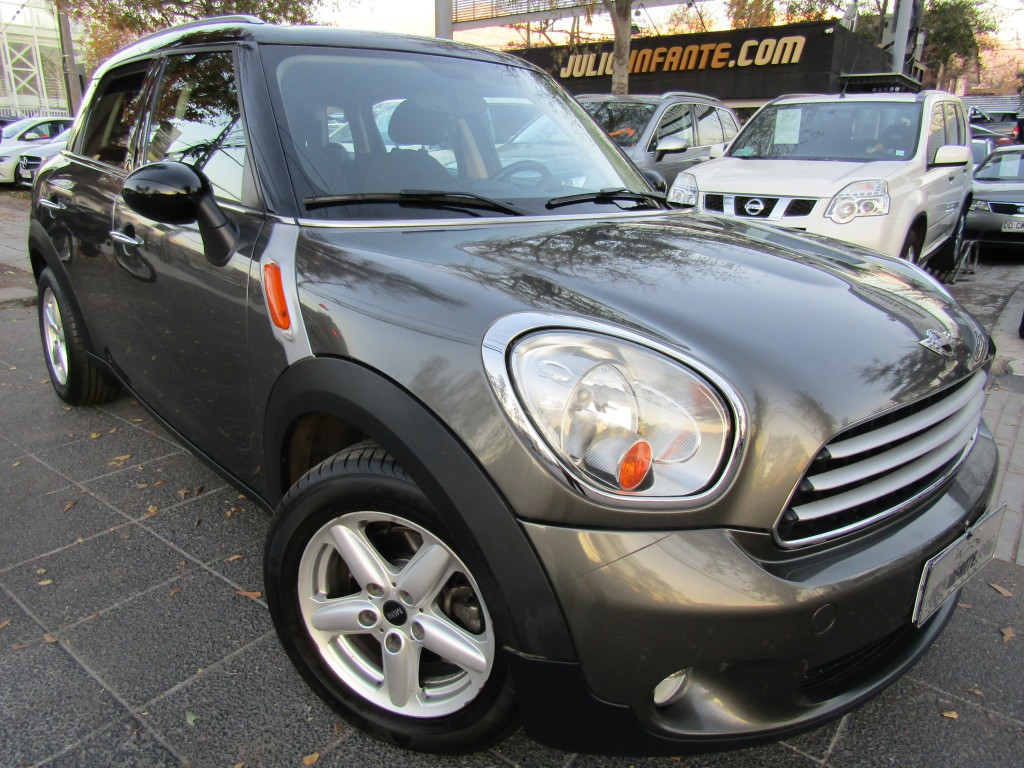 MINI COUNTRYMAN 2.0 DIESEL, Autom paddle shift  2013 aire, sensores estac.. bluetooth, botón partida.  - JULIO INFANTE