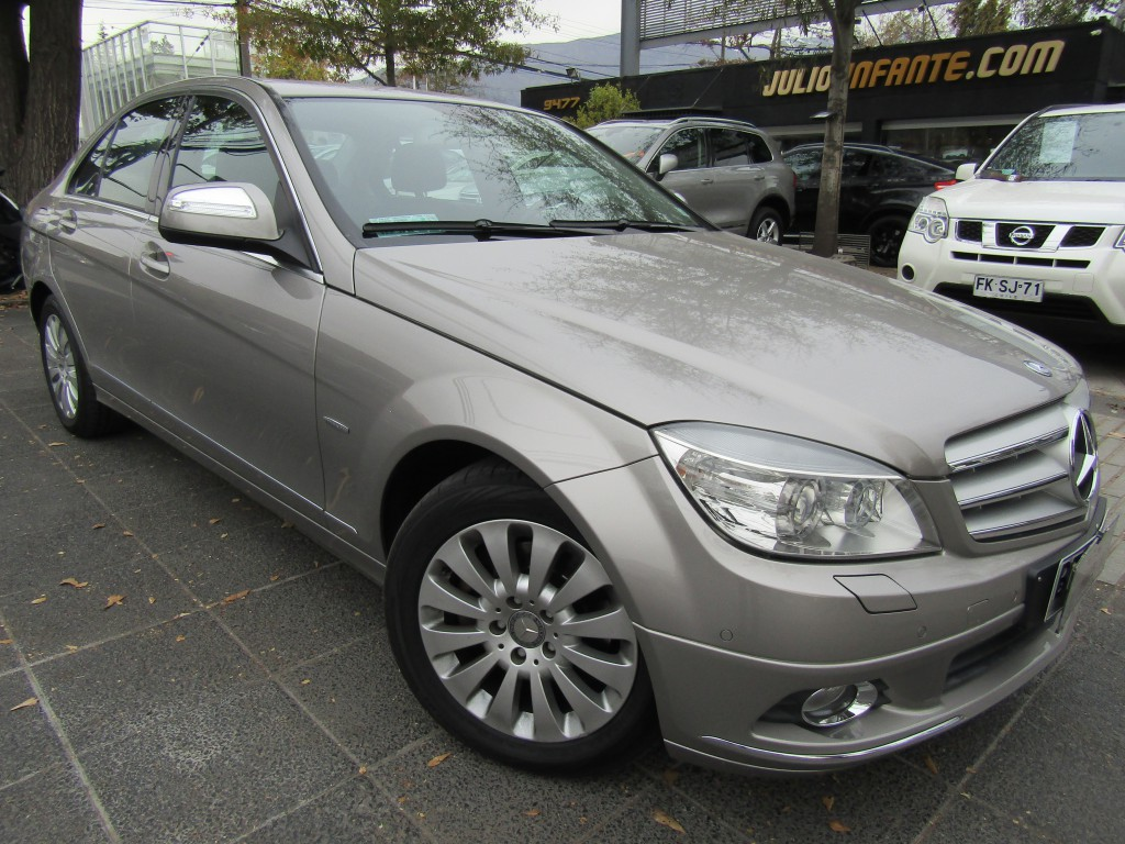 MERCEDES-BENZ C200 Kompressor BE Elegance cuero  2009 Sunroof, 6 airbag. IMPECABLE.  - JULIO INFANTE