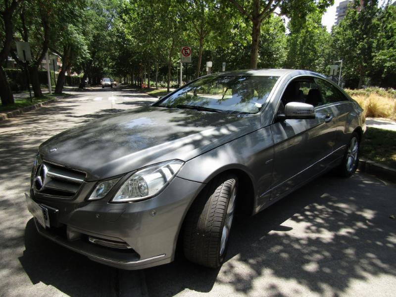 MERCEDES-BENZ E 200 Coupe Elegance 2.0 2013 cuero, asientos eléctricos, aire - JULIO INFANTE