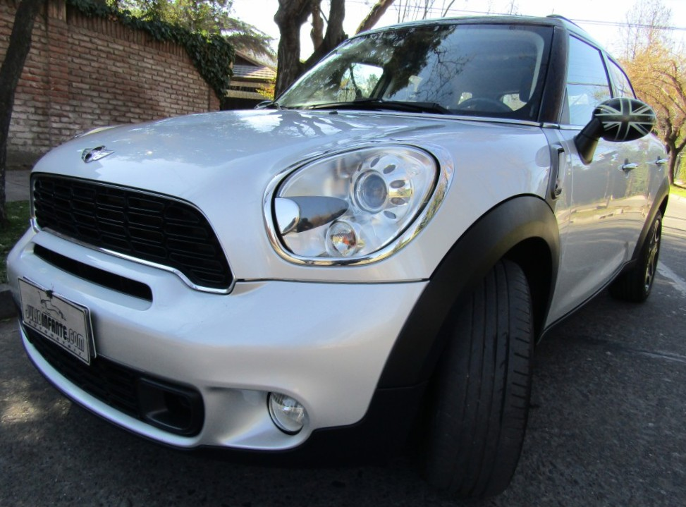 MINI COUNTRYMAN Cooper 1.6 AT Tipt, paddle ship  2014 6 veloc, Cuero. 65 mil km. IMPECABLE. Mantenciones - JULIO INFANTE