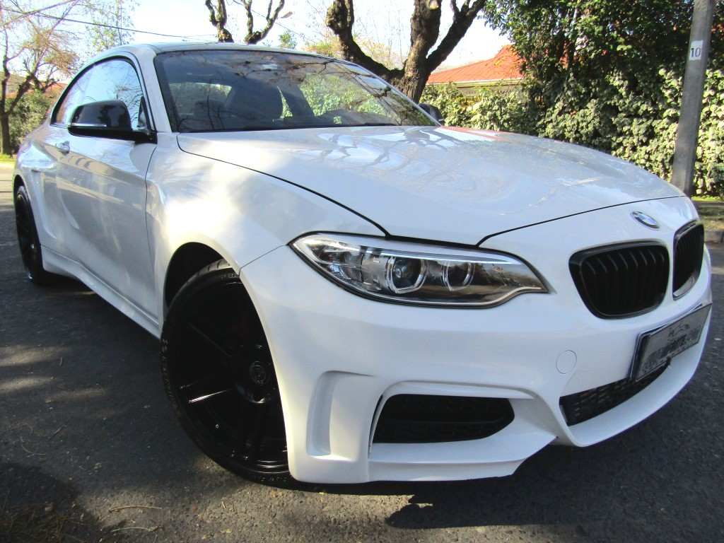 BMW M2 235I Coupe 3.0 Kit Dinan 2014 400 hp. Sunroof, cuero alcantara, Kit Man Hard - JULIO INFANTE
