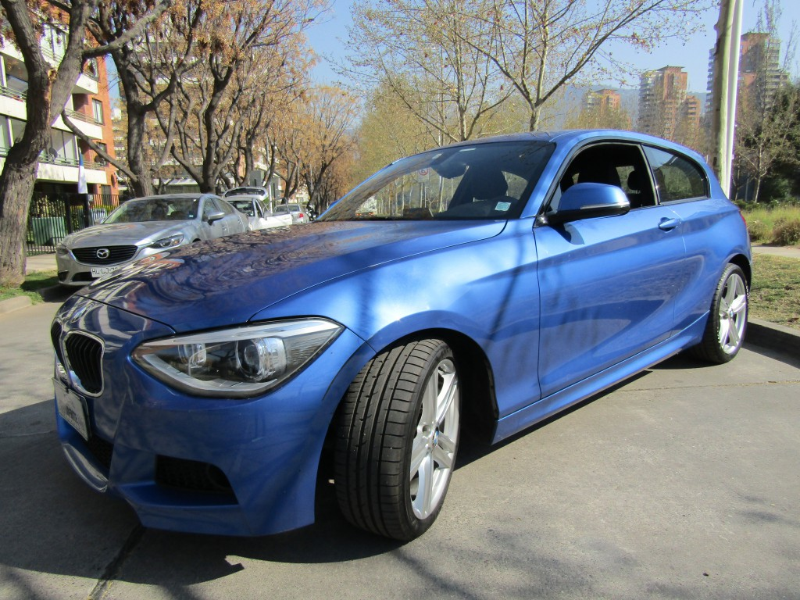 BMW 116I  Sport 1.6 Sport Look M 2014 Twin Turbo,  cuero alcantara,  42 mil km.  - JULIO INFANTE