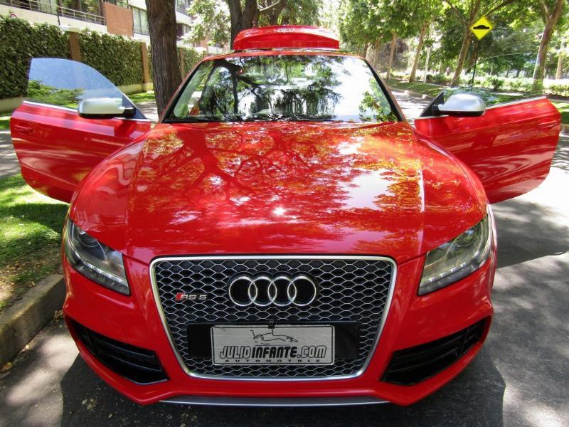 AUDI RS5 RS5 FSI Quattro 4.2 AUT 2011 Sunroof, cuero, aire. Mantencion audi, al día.  - JULIO INFANTE