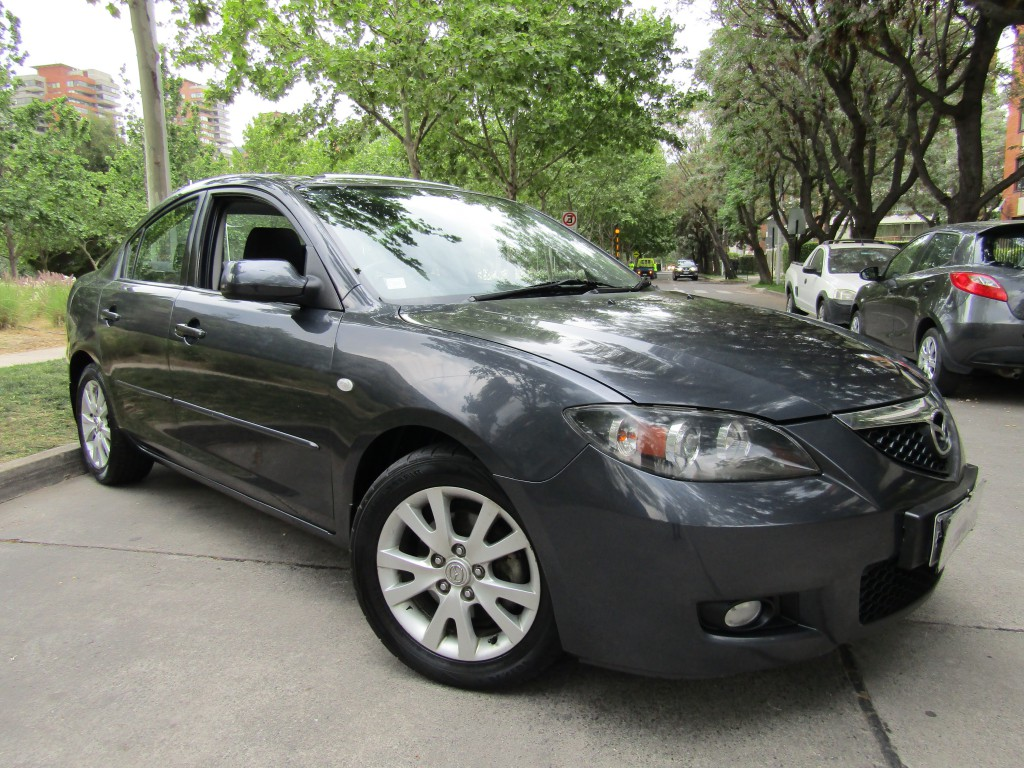 MAZDA 3 1.6 Sunroof, aire, mecanico 2007 airbags, IMPECABLE. Bonito, fantástico andar.  - JULIO INFANTE
